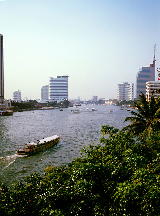 Ferry on the Chao Phraya river