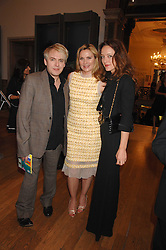 Left to right, NICK RHODES, KIM CATTRALL and ALICE TEMPERLEY at the Royal Academy of Arts Summer Exhibition Party at the Royal Academy, Piccadilly, London on 6th June 2007.<br />