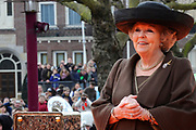 Koningin Beatrix heropent het Rijksmuseum na een verbouwing van bijna tien jaar.<br /> <br /> Queen Beatrix reopens the the Rijksmuseum after renovations of almost ten years.<br /> <br /> Op de foto / On the photo: