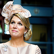 Koning en koningin bezoeken Noordrijn-Westfalen. Koning Willem Alexander  en Koningin Maxima  brengen een bezoek aan MMID / Creatieve Industrie Essen<br /> <br /> King and Queen visit North Rhine-Westphalia.<br /> King Willem Alexander and Queen Maxima visit MMID / Creative Industry Essen<br /> <br /> Op de foto / On the photo: <br /> <br />  Koningin Maxima / Queen Maxima