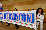 Roma, 29 Marzo 2015<br /> Convention di Forza Italia: Roma l'Italia e l'Europa che vogliamo. Attivisti di Forza Italia<br /> Rome, March 29, 2015<br /> Convention  of Forza Italy: Rome the Italy and Europe that we want. Activists of Forza Italy