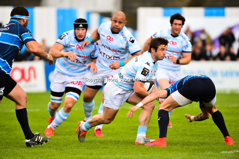 Marc ANDREU  - 11.04.2015 - Racing Metro / Montpellier  - 22eme journee de Top 14 <br />Photo : Dave Winter / Icon Sport