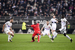 February 23, 2019 - Amiens, France - 27 JEAN VICTOR MAKENGO (NICE) - 09 SEHROU GUIRASSY  (Credit Image: © Panoramic via ZUMA Press)