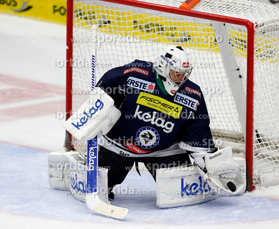 09.10.2015, Stadthalle, Villach, AUT, EBEL, EC VSV vs HC Orli Znojmo, 9. Runde, im Bild Jean Philippe Lamoureux (VSV) // during the Erste Bank Icehockey League 9th round match between EC VSV vs HC Orli Znojmo at the City Hall in Villach, Austria on 2015/10/09, EXPA Pictures © 2015, PhotoCredit: EXPA/ Oskar Hoeher