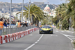 May 1, 2019 - Nice, France - Daniel Riciardo drive Renault Formula1 in Nice (FR) streets. (Credit Image: © Lombard Philippe/Pacific Press via ZUMA Wire)