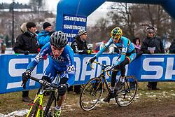 Stefano Sala (ITA), Men Juniors, Cyclo-cross World Championship Tabor, Czech Republic, 31 January 2015, Photo by Pim Nijland / PelotonPhotos.com