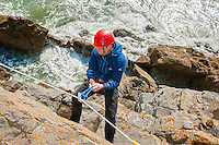 Sea Level Traversing<br /> Great Tor<br /> Tor Bay<br /> Near Penmaen<br /> Gower Peninsula<br /> Swansea County<br /> South<br /> Activities and Sports