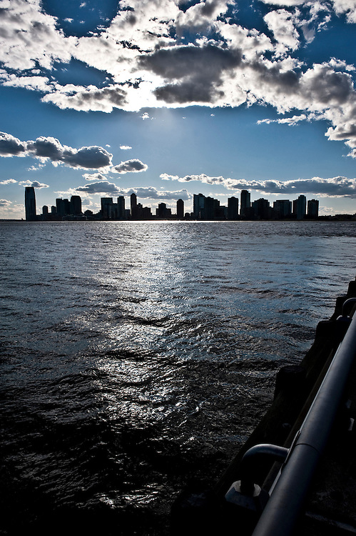 View of New Jersey from Chelsea, New York