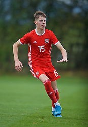 WREXHAM, WALES - Wednesday, October 30, 2019: Wales' Ruben Davies during the 2019 Victory Shield match between Wales and Republic of Ireland at Colliers Park. (Pic by David Rawcliffe/Propaganda)