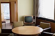 Gli uffici di Erich Mielke, capo del Ministero della Sicurezza di Stato (Stasi) dal 1957 al 1989, all'interno dell'ex quartier generale, oggi Museo della Stasi. Berlino, Germania, 4 ottobre 2014. Guido Montani / OneShot<br /> <br /> The offices of Erich Mielke, head of East Germany's Minister of State Security (Stasi) from 1957 to 1989, inside former Stasi headquarter, now Stasi Museum. Berlin, Germany, 4 october 2014. Guido Montani / OneShot