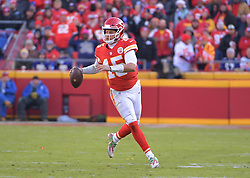Dec 9, 2018; Kansas City, MO, USA; Kansas City Chiefs quarterback Patrick Mahomes (15) looks to pass during the second half against the Baltimore Ravens at Arrowhead Stadium. Mandatory Credit: Denny Medley-USA TODAY Sports