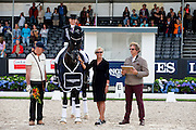 Dorothee Schneider - Sezuan<br /> Longines FEI/WBFSH World Breeding Dressage Championships for Young Horses 2016<br /> © DigiShots
