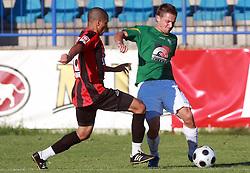 Denis Grbic (10) of Rudar  at 6th Round of PrvaLiga Telekom Slovenije between NK Primorje Ajdovscina vs NK Rudar Velenje, on August 24, 2008, in Town stadium in Ajdovscina. Primorje won the match 3:1. (Photo by Vid Ponikvar / Sportal Images)
