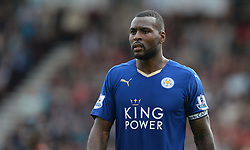 Wes Morgan of Leicester City - Mandatory byline: Alex James/JMP - 07966386802 - 29/08/2015 - FOOTBALL - Dean Court -Bournemouth,England - AFC Bournemouth v Leicester City - Barclays Premier League