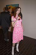 Leigh Robieson-Cleaver. David la Chapelle VIP party. Barbican. 21 October 2002. © Copyright Photograph by Dafydd Jones 66 Stockwell Park Rd. London SW9 0DA Tel 020 7733 0108 www.dafjones.com