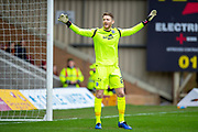 Mark Gillespie (#20) of Motherwell FC during the Ladbrokes Scottish Premiership match between Motherwell FC and Heart of Midlothian FC at Fir Park, Stadium, Motherwell, Scotland on 17 February 2019.