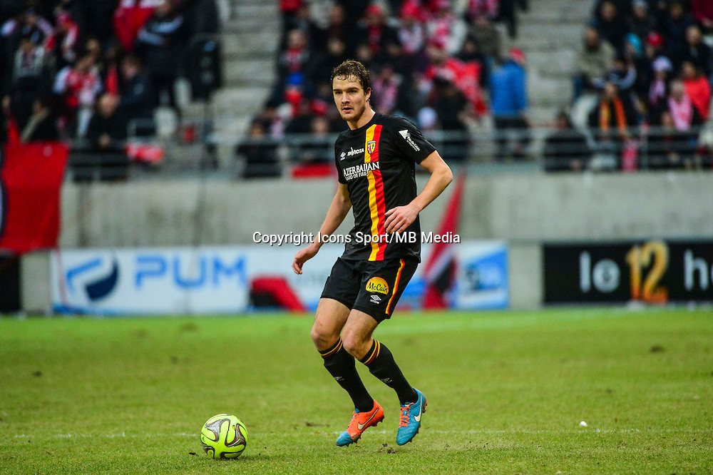 Benjamin BOULENGER - 25.01.2015 - Reims / Lens  - 22eme journee de Ligue1<br /> Photo : Dave Winter / Icon Sport *** Local Caption ***