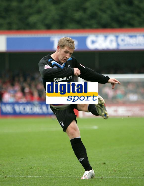 Photo: Rich Eaton.<br /> <br /> Cheltenham Town v Nottingham Forest. Coca Cola League 1. 13/10/2007. Forest's Kris Commons who scored a hat trick.
