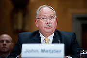 Jul 29, 2010 - Washington, District of Columbia, U.S., -.JOHN METZLER, former superintendent of Arlington National Cemetery appears before a Senate Homeland Security and Governmental Affairs Committee hearing about mismanagement  at Arlington National Cemetery. (Credit Image: © Pete Marovich/ZUMA Press)