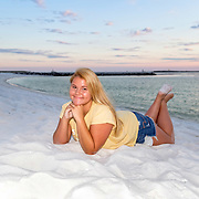 Jones (Jamie) Senior Beach Photos