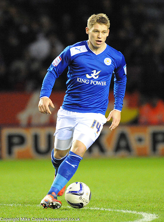 MARTYN WAGHORN, LEICESTER CITY, Leicester City v Huddersfield Town, NPOWER Championship,  King Power Stadium, Leicester, Tuesday 1st January 2013