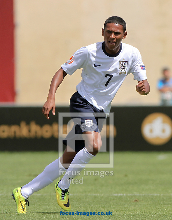 Demetri Mitchell of England during the 2014 UEFA European Under-17 match at Hibernians Stadium, Paola<br /> Picture by Tom Smith/Focus Images Ltd 07545141164<br /> 15/05/2014