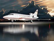 Charlotte Jet Falcon 900B