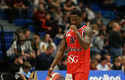Jalan McCloud of Bristol Flyers - Photo mandatory by-line: Arron Gent/JMP - 28/04/2019 - BASKETBALL - Surrey Sports Park - Guildford, England - Surrey Scorchers v Bristol Flyers - British Basketball League Championship