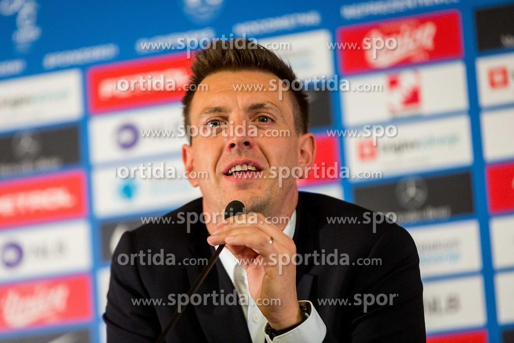 Matjaz Krajnik during Press conference of new head coach of Team Slovenia, on November 27, 2018 in National Football Centre, Brdo pri Kranju, Slovenia. Photo by Ziga Zupan / Sportida