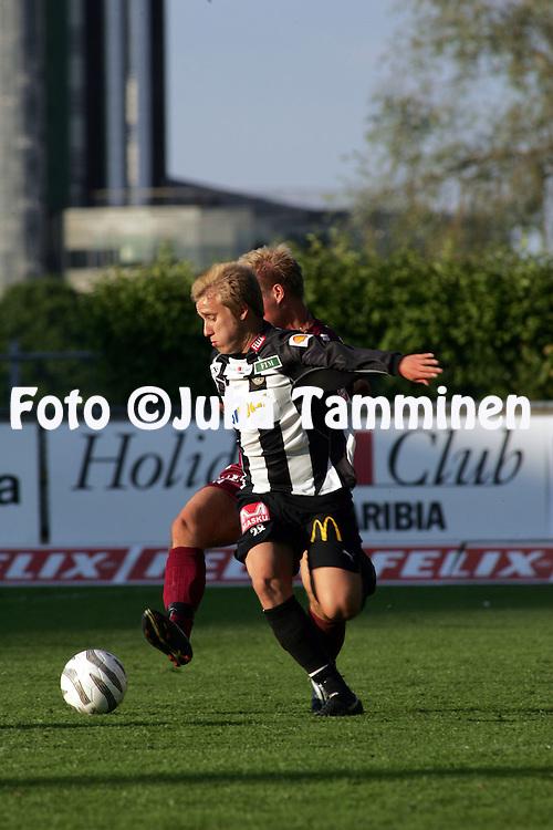 15.06.2005, Veritas Stadion, Turku, Finland..Veikkausliiga 2005 / Finnish League 2005.TPS Turku v FC Lahti.Jani Virtanen - TPS.©Juha Tamminen.....ARK:k