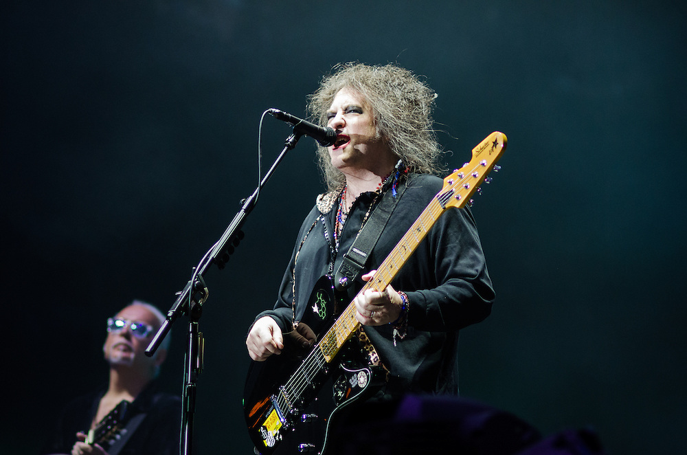 Robert Smith of The Cure at Lollapalooza