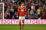 Nottingham Forest midfielder, on loan from Everton, Kieran Dowell (20) makes his Forest debut during the EFL Sky Bet Championship match between Nottingham Forest and Millwall at the City Ground, Nottingham, England on 4 August 2017. Photo by Jon Hobley.
