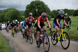 Lisa Klein (GER) of CANYON//SRAM Racing climbs on Stage 4 of 2019 OVO Women's Tour, a 158.9 km road race from Warwick to Burton Dassett, United Kingdom on June 13, 2019. Photo by Balint Hamvas/velofocus.com