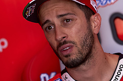 November 21, 2018 - Valencia, Spain - Andrea Dovizioso (4) of Italy and Ducati Team during the test of the new MotoGP season 2019 at Ricardo Tormo Circuit in Valencia, Spain on 21th Nov 2018  (Credit Image: © Jose Breton/NurPhoto via ZUMA Press)
