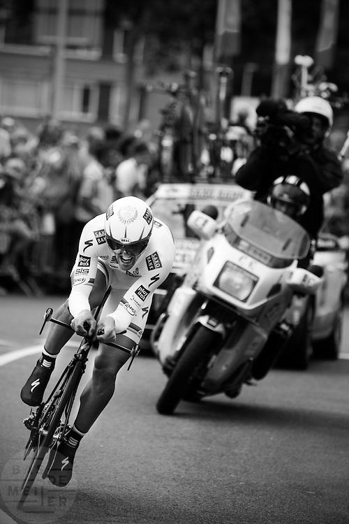 Proloog van de Tour de France in Rotterdam.<br /> <br /> Prologue of the Tour de France in Rotterdam.