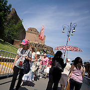 Turisti a Roma.<br /> Tourists in Rome