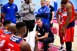 Bristol Flyers coach Andreas Kapoulas - Rogan/JMP - 13/10/2017 - BASKETBALL - SGS Wise Arena - Bristol, England. - Bristol Flyers v Cheshire Pheonix - BBL Cup.