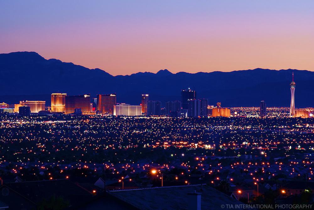 Las Vegas Valley @ Sunset