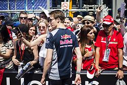 May 26, 2017 - Monaco, Monaco - 26 KVYAT Daniil from Russia of Toro Rosso Ferrari STR12 team Toro Rosso signing autographs to the fans during the Monaco Grand Prix of the FIA Formula 1 championship, at Monaco on 26th of 2017. (Credit Image: © Xavier Bonilla/NurPhoto via ZUMA Press)