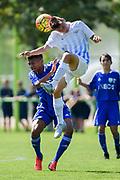 10.09.2016; Zuerich; Fussball FC Zuerich Academy - FC Zuerich U16 - Vaud Lausanne. <br />James Wyndham-Lewis (Zuerich) <br />(Andy Mueller/freshfocus)