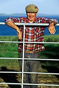 Portrait of an Irish farmer, County Clare, Ireland