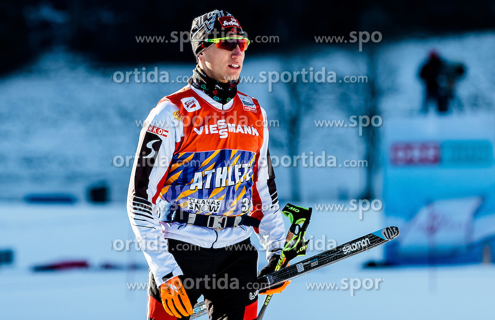 16.12.2016, Nordische Arena, Ramsau, AUT, FIS Weltcup Nordische Kombination, Langlauf, im Bild David Pommer (AUT) // David Pommer of Austria during Cross Country Training of FIS Nordic Combined World Cup, at the Nordic Arena in Ramsau, Austria on 2016/12/16. EXPA Pictures © 2016, PhotoCredit: EXPA/ JFK