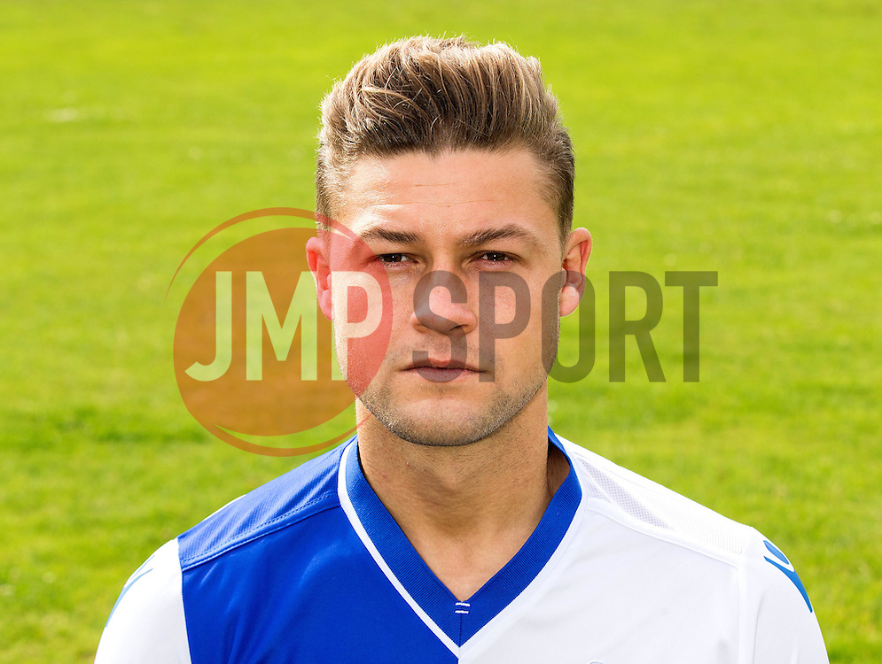 James Clarke of Bristol Rovers - Mandatory by-line: Robbie Stephenson/JMP - 04/08/2016 - FOOTBALL - The Lawns Training Ground - Bristol, England - Bristol Rovers Head Shots
