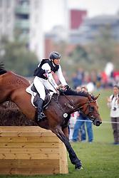 Klimke Ingrid (GER) - FRH Escada JS <br /> Cross<br /> HSBC FEI European Championships Eventing - Malmö 2013<br /> © Dirk Caremans