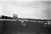20/03/1963<br /> 03/20/1963<br /> 20 March 1963<br /> Soccer: Transport v Limerick, Cup tie replay at Harold's Cross, Dublin.