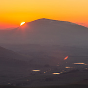 Tinto Hill at dusk in South Lanarkshire