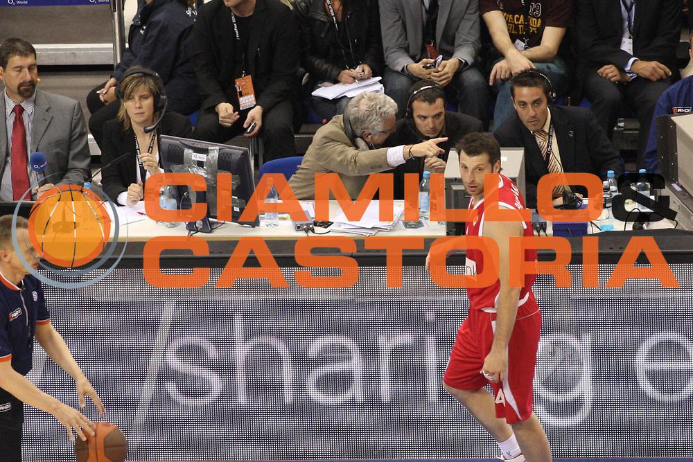 DESCRIZIONE : Berlino Eurolega 2008-09 Final Four Semifinale Olympiacos Piraeus Panathinaikos Atene<br /> GIOCATORE : Andrea Bassani<br /> SQUADRA : <br /> EVENTO : Eurolega 2008-2009 <br /> GARA : Olympiacos Piraeus Panathinaikos Atene<br /> DATA : 01/05/2009 <br /> CATEGORIA : Ritratto<br /> SPORT : Pallacanestro <br /> AUTORE : Agenzia Ciamillo-Castoria/G.Ciamillo