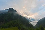 Sunrise Ginzling Austria