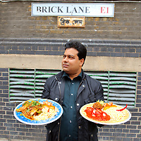 London November 21st UK National Curry Week  200 Years of Indian Restaurants in the U.K with National Curry Week 2009 22-28 November 2009 ARCHIVE images October 09 of curry restaurants on Brick lane London<br /> -------------------------<br /> Marco Secchi tel 0771 7298571<br /> email ms@msecchi.com