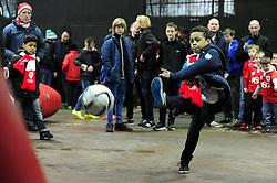City 7's  - Photo mandatory by-line: Alex James/JMP - Mobile: 07966 386802 - 28/03/2015 - SPORT - Basketball - Bristol - SGS Wise Campus - Bristol Flyers v London Lions - British Basketball League